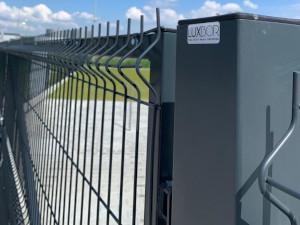 ogrodzenia panelowe aluminiowe