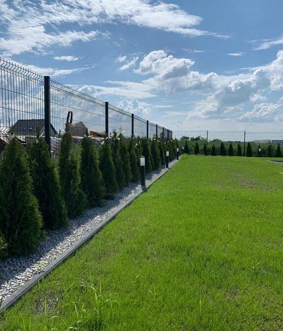 ogrodzenie posesji - panele ogrodzeniowe