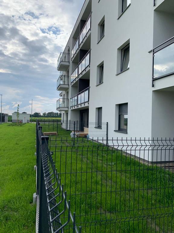 ogrodzenie wspólnoty mieszkaniowej - panelowe Zabrze